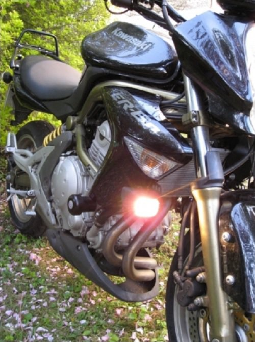 Kawsaki Ninja 650R ER-6f ER-6n EX-6 Hella Driving Lights Fog Lamps