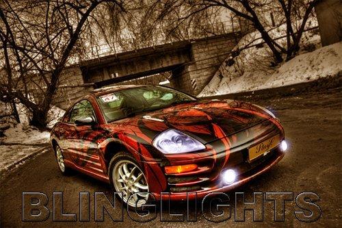2000 2001 2002 Mitsubishi Eclipse Halo Fog Lamps Lights