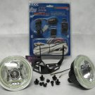 "4"" Inch Round Angel Eye Fog Lights Driving Lamps Kit Universal"