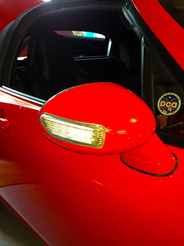 Mazda Miata MX-5 LED Side Mirror Turnsignals Light Lamps Kit Turn Signalers
