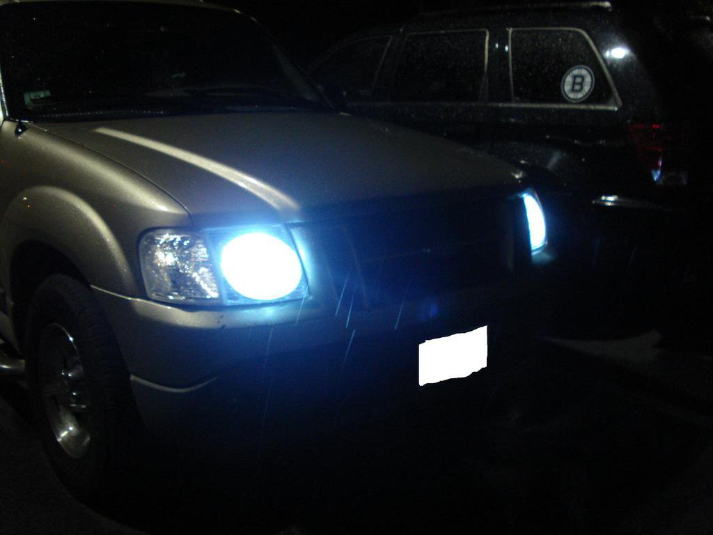 ford explorer sport trac xenon hid head light conversion kit