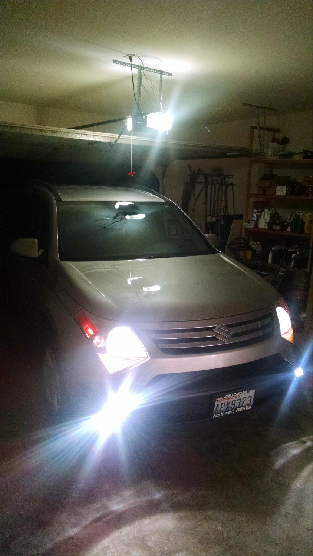 2007 2008 2009 Suzuki XL7 Fog Lamps Driving Lights Kit