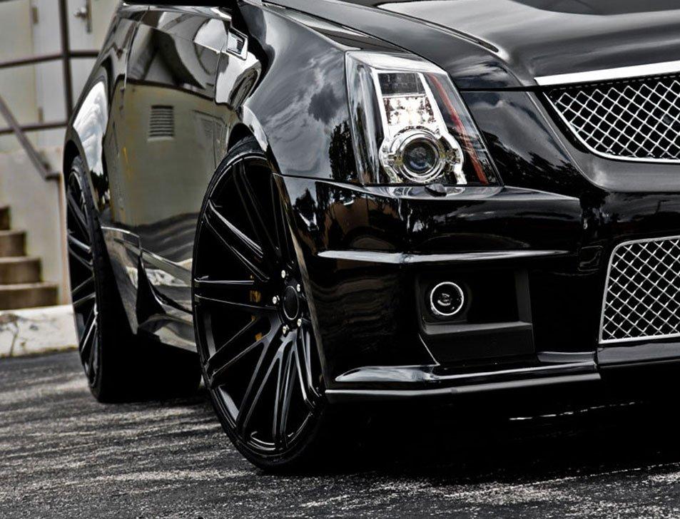 2010-2014 Cadillac CTS-V Angel Eye Fog Lamp Driving Light Kit