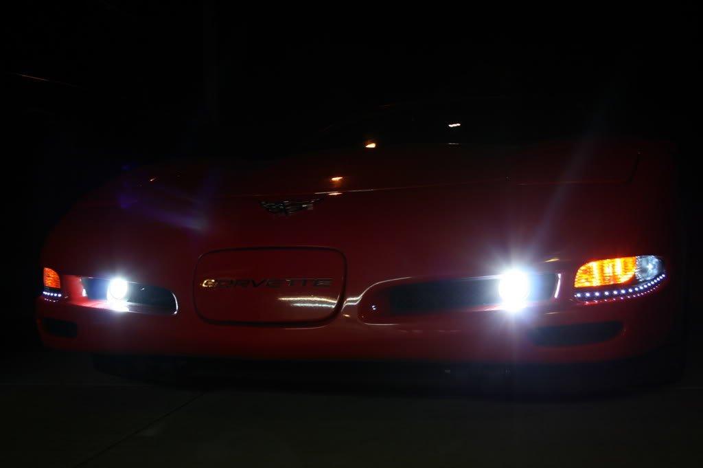 Corvette C5 PIAA 1100x Driving Lights 1997 1998 1999 2000 2001 2002 2003 2004