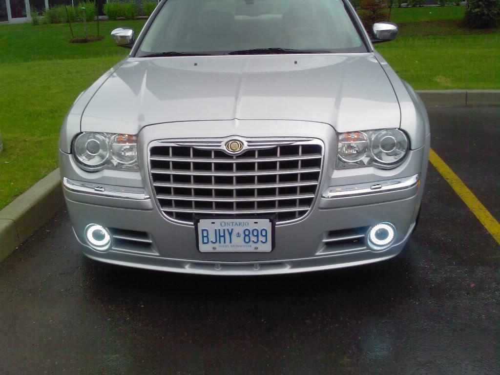 2005-2010 Chrysler 300 300C Halo Fog Lamps Angel Eye Lights