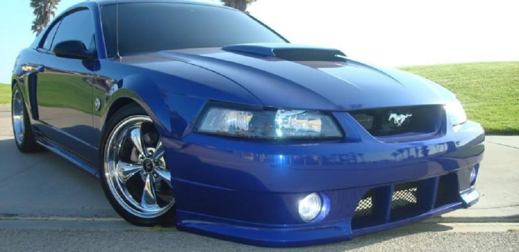 1999-2004 Ford Mustang Roush Body Kit Halo Fog Lamps