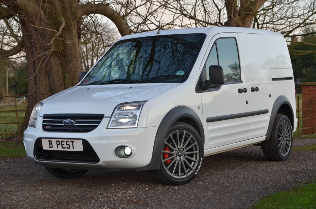 Ford Transit Connect Xenon Fog Lamps Driving Lights Kit