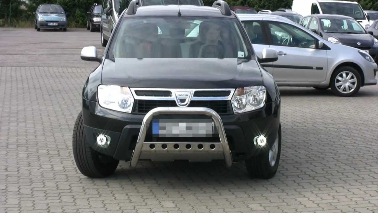 Dacia Duster Angel Eye Fog Lamps Driving Lights Kit