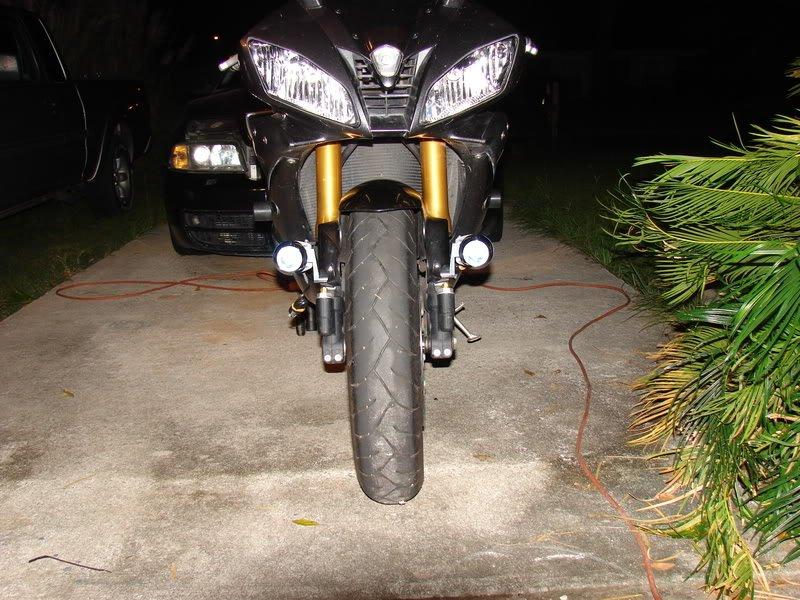 Yamaha YZF-R6 PIAA 1100X Auxiliary Driving Lights Kit