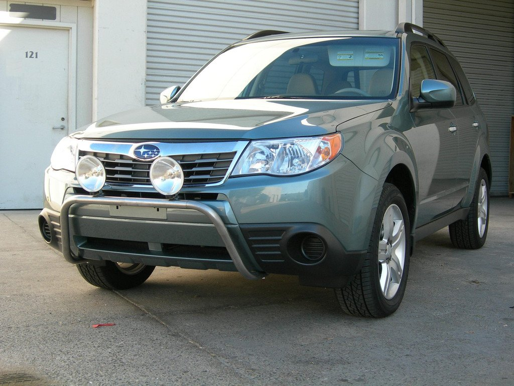 subaru forester auxiliary off road driving light bumper lamps. Black Bedroom Furniture Sets. Home Design Ideas