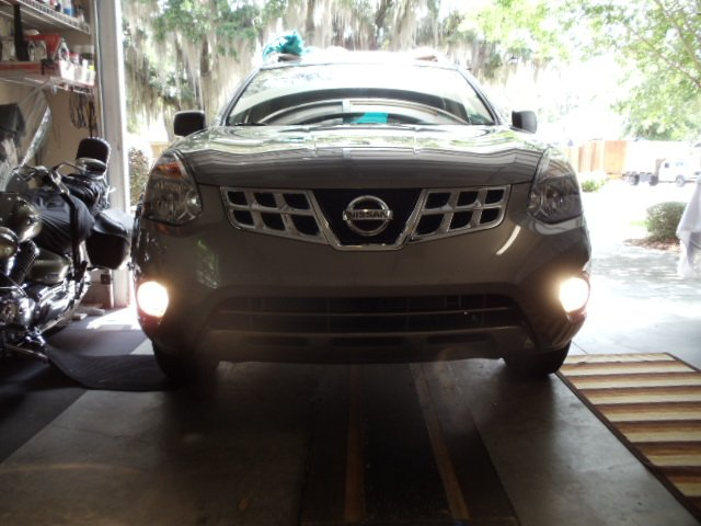 2014 2015 Nissan Rogue Select Xenon Fog Lamp Driving Light Kit