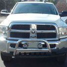 Ram 1500 2500 3500 PIAA 510 Driving Lights Auxiliary Off Road Lamp Kit
