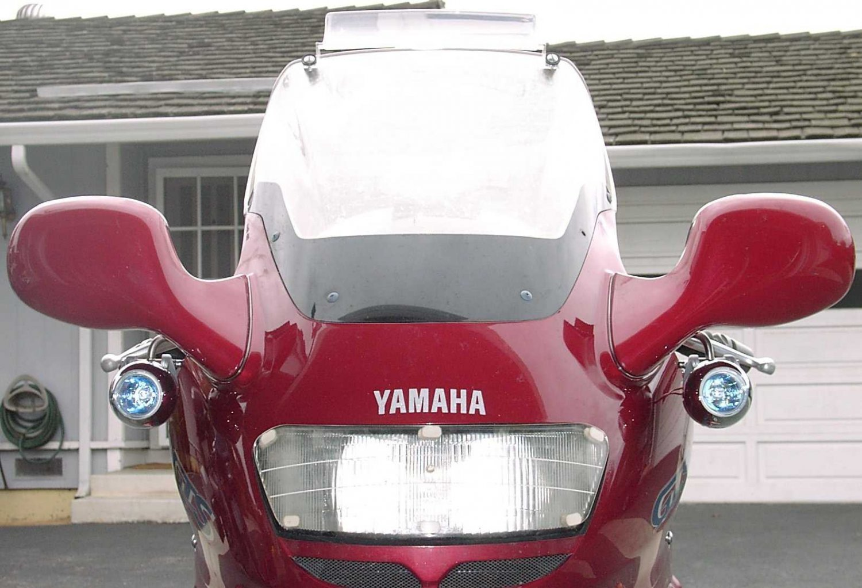 Yamaha GTS1000 PIAA 1100X Driving Lights GTS-1000 Auxiliary Lamp Kit