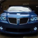 2008 2009 Pontiac G8 White Halo Fog Lamps Driving Lights Kit