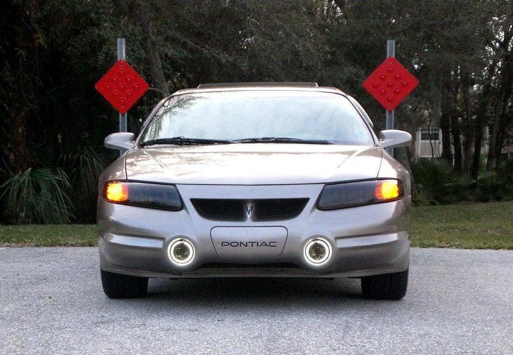 2000-2005 Pontiac Bonneville SLE SSEi Halo Fog Lamps Lights