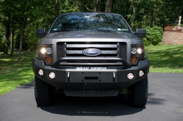 PIAA 510 Driving Lights Kit for Ford F-150 Road Armor Bumper