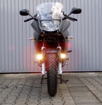 BMW F800GS F800GT F800R F800S F800ST Hella Driving Lights Fog Lamps