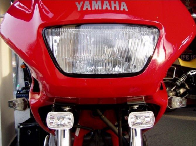 Hella Micro Driving Light Kit for Yamaha Diversion Seca II