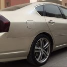 2006 2007 Infiniti M35 M45 Tint Protection Film for Smoked Taillamps Taillights Tail Lamps Overlays