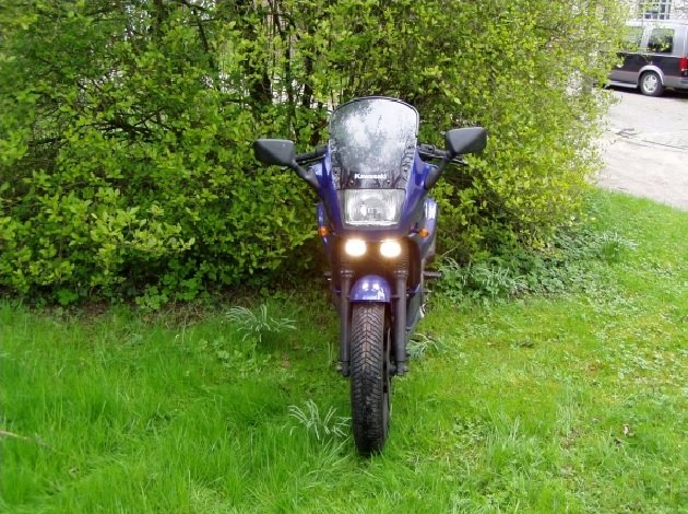 Kawasaki GPZ 500S / EX 500R Ninja Xenon Driving Lights Fog Lamps Kit