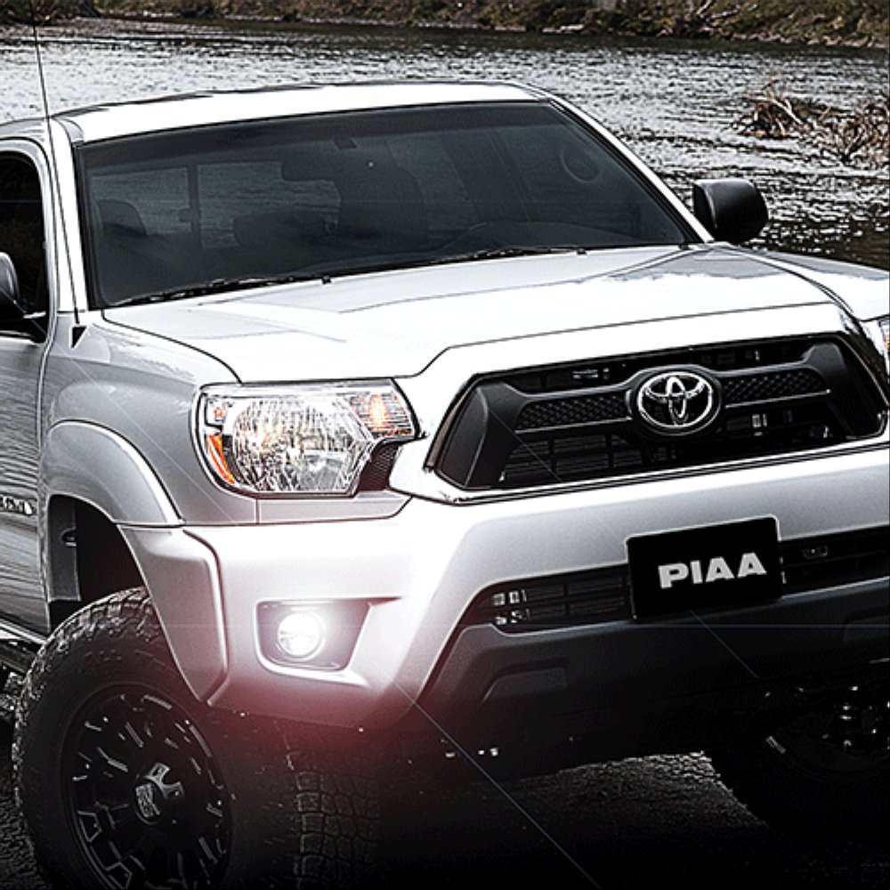 2012 2013 2014 2015 Toyota Tacoma PIAA LP530 LED Fog Lamp Kit