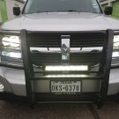 "Dodge Nitro PIAA 6000K 18"" 64W LED Hybrid Fog or Driving Light Bar"