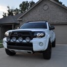 PIAA Black 4x Lamp Bumper Bar for 2005-2011 Toyota Tacoma Front