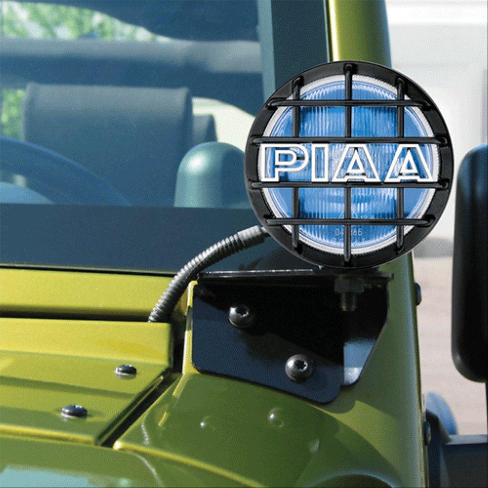 PIAA 540 Pillar Mount VSK Driving Lights for 2007-2017 Jeep Wrangler JK