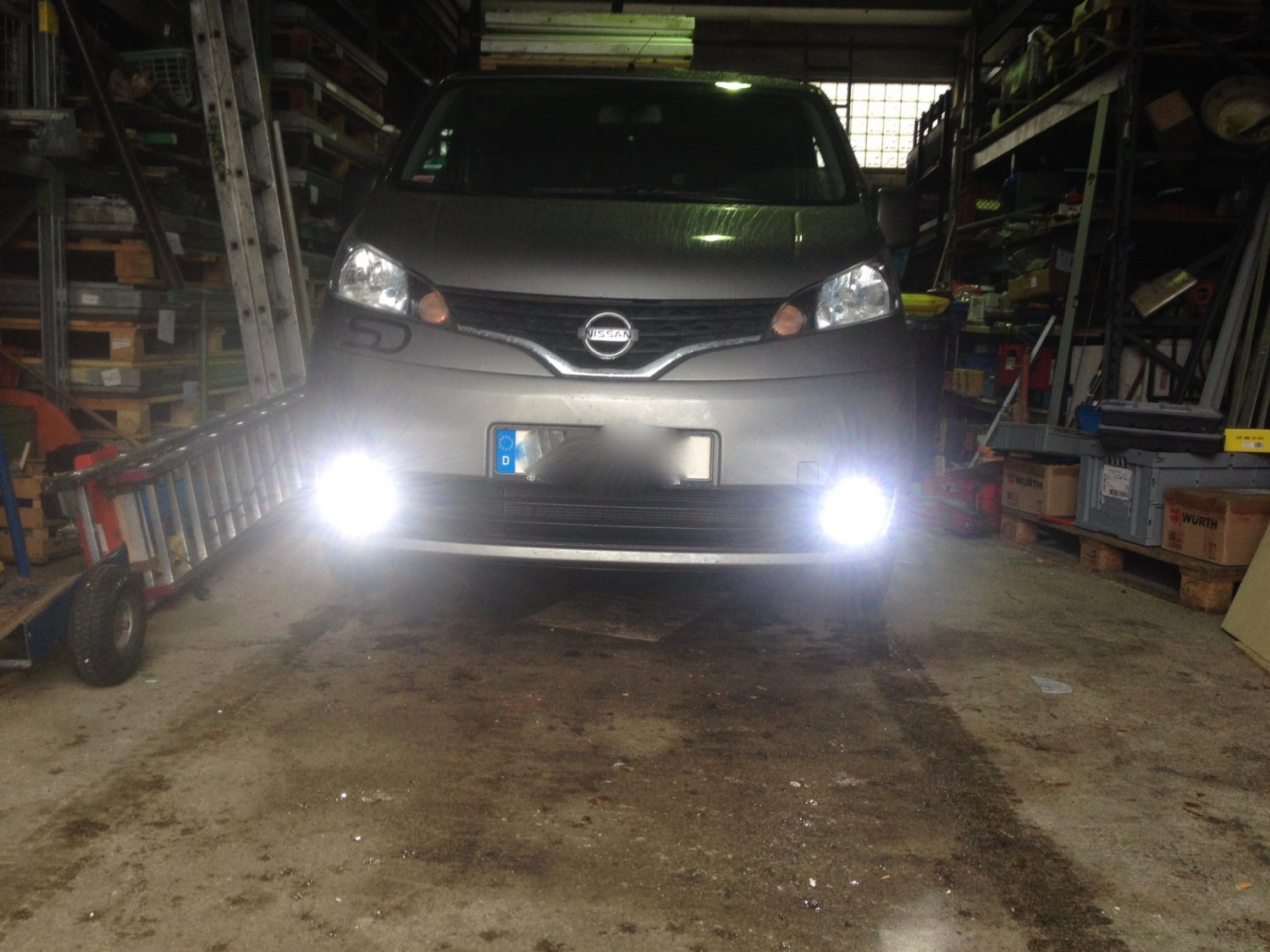 Nissan NV200 Xenon Fog Lamps Driving Lights Kit