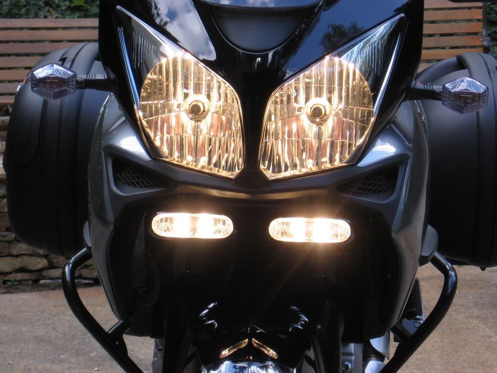 Suzuki V-Strom 6000K Driving Light Lamp Kit DL650 DL1000 KLV1000