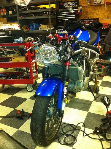 Kawasaki Z1000 PIAA Iron Horse Headlight Headlamp