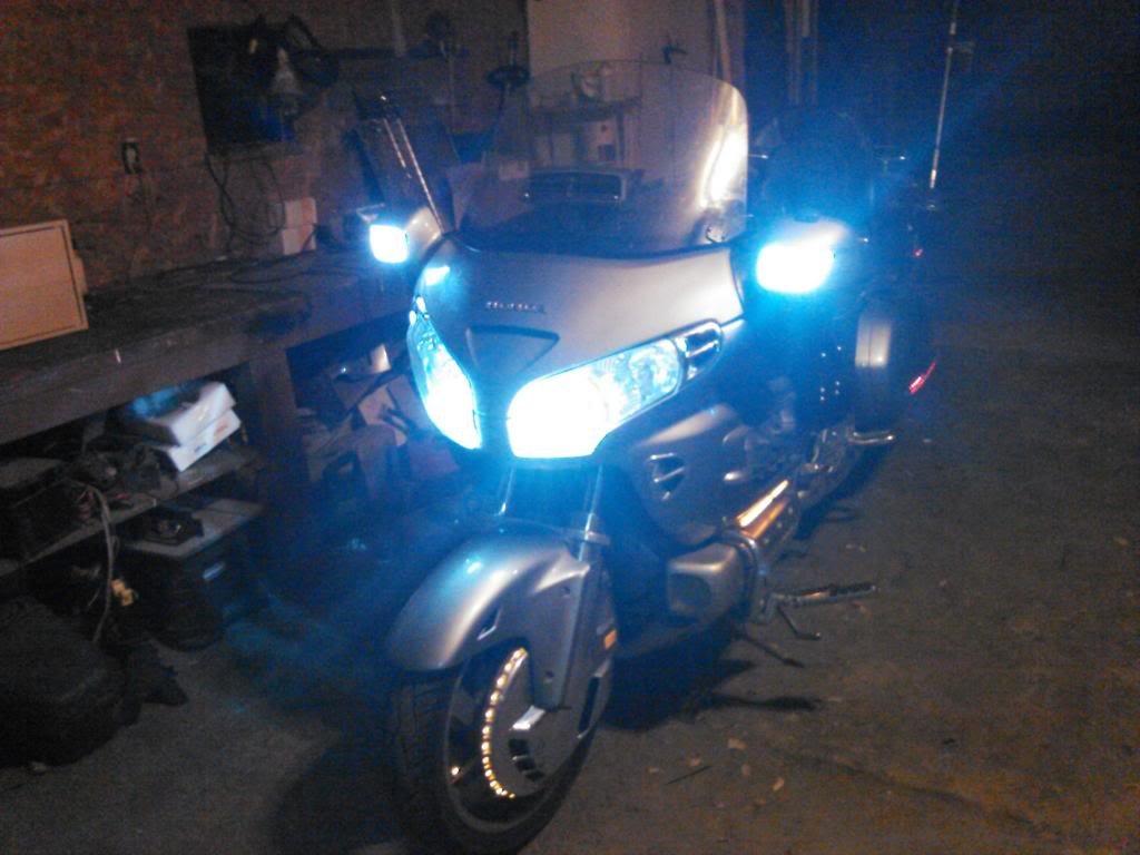 Honda Goldwing GL1800 Xenon HID Headlight Conversion Kit