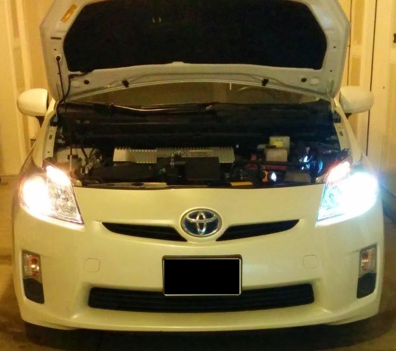 Toyota Prius Xenon HID Headlight Conversion Kit
