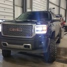 2014-2018 GMC Sierra Bright White Head Lamp Light Bulbs