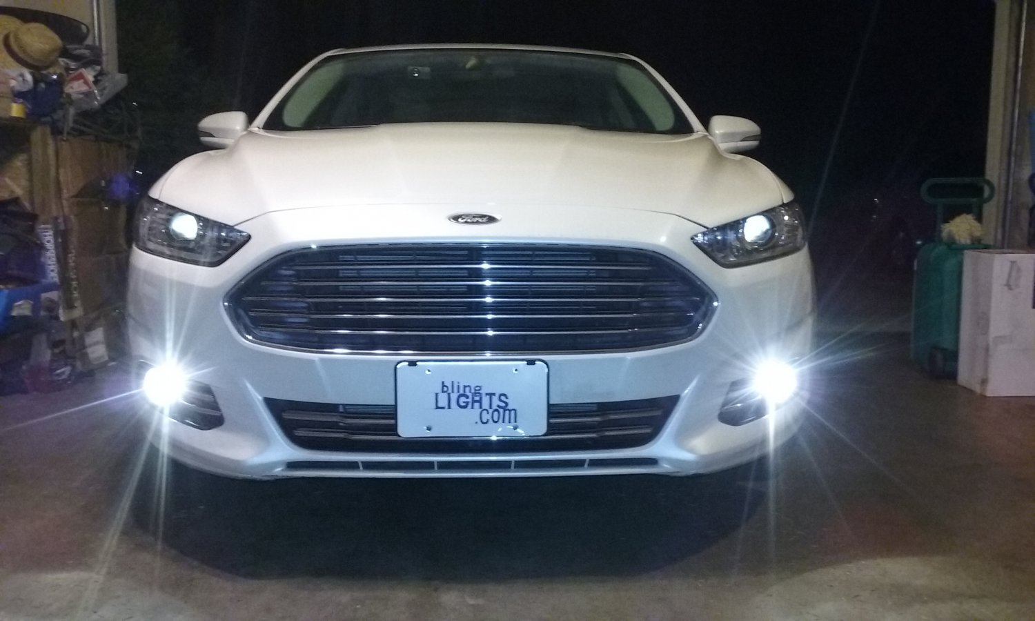 2013 2014 2015 2016 Ford Fusion Angel Eye Halo Fog Lamps Lights