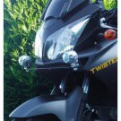 Suzuki V-Strom 6000K LED Auxiliary Flood Lamps Lights Kit (all years)