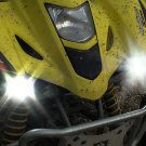 2003 2004 2005 2006 Kawasaki KFX 400 Auxiliary 6000K LED Lamps Lights