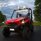 Kawasaki Teryx Mule 6000K LED Auxiliary Lights Flood Lamps Kit (all years)