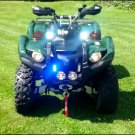 Yamaha Grizzly 6000K LED Auxiliary Lamps Lights Kit (all years)