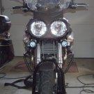 Moto Guzzi Stelvio 6000K LED Auxiliary Lamps Lights Kit