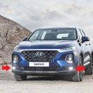 2019 2020 Hyundai Santa Fe 6000K LED Fog Lamps Lights Kit