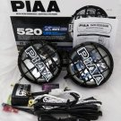 "PIAA 520 SMR Xtreme White 6"" Round Driving Lamp Kit SAE Certified 05294"
