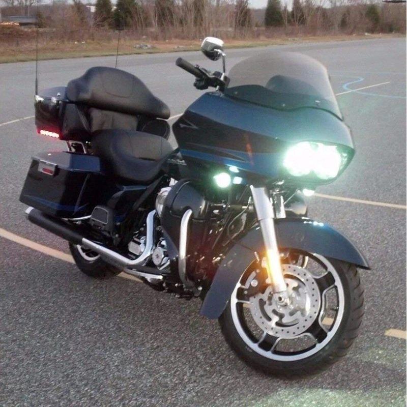 Harley-Davidson Road Glide 6000K LED Fog Lights Kit
