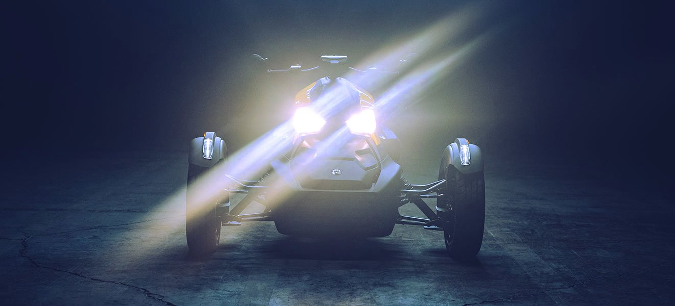 Xenon HID Conversion Kit for Can-Am Ryker Headlights