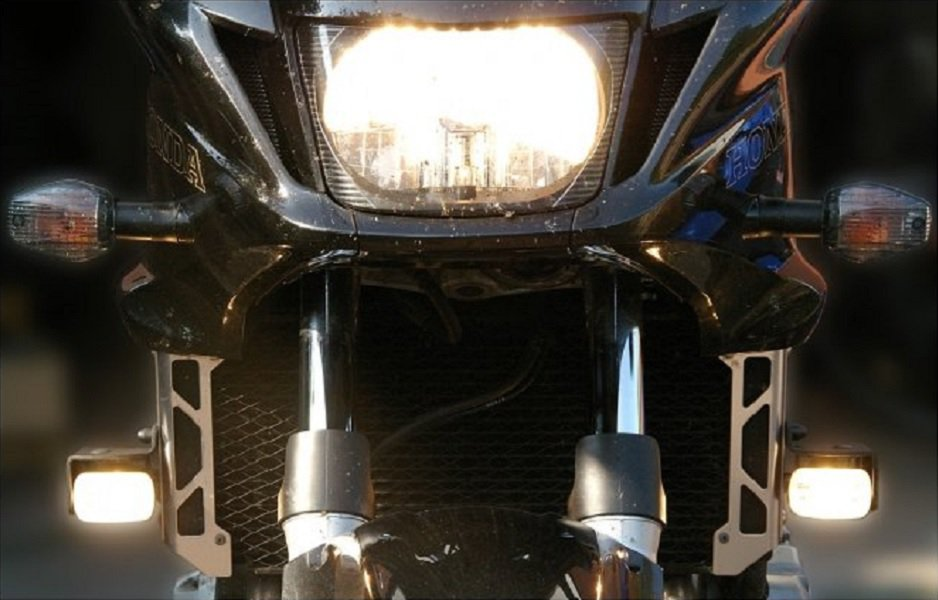 Hella Driving Lights Kit for Honda CB1300 CB1300S