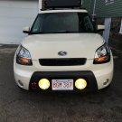 Auxiliary Bumper Driving Fog Lights Lamps Kit for Kia Soul (all years)