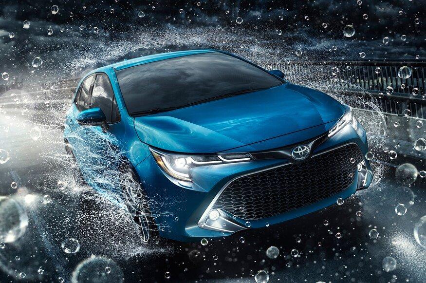 LED Halo Angel Eye Fog Lights for 2019 2020 Toyota Corolla Hatchback Sedan
