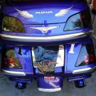 Tinted Tail Lights Lens Film Overlay Covers for Honda Gold Wing (all years)