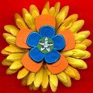 #CLIP-30: Star Flower Hair Clothing Accessories Clip, Pin and Ponytail Holder