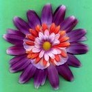 #CLIP-167: Jumbo Flower Hair Clothing Accessory Clip, Pin and Ponytail Holder